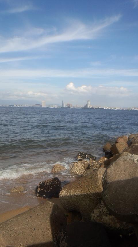 能古の島 海岸