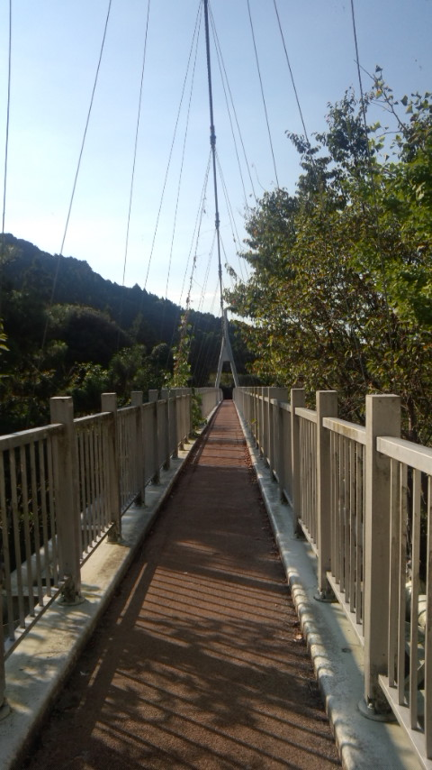 糸島 二丈町 加茂ゆらりんこ橋