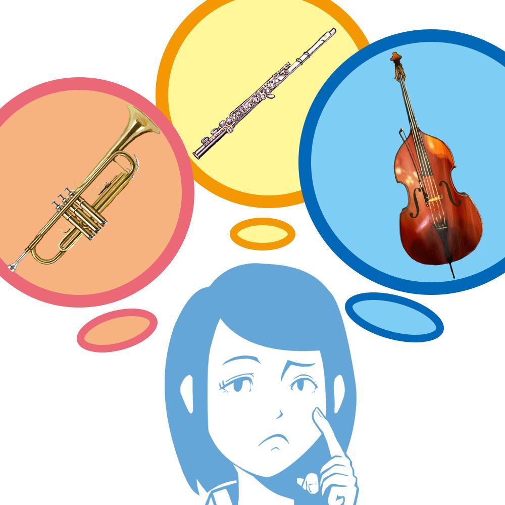 楽器をイメージする人